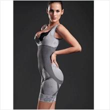 Warehouse S1 set BAMBOO Charcoal Slim FULL Body Corset SHAPER Size S-M