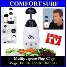 Cheapest Multipurpose Slap Chop-Vege, Fruit, Food Chopper + FREE GIFT!