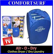 Air O Dry Portable Electric Air Clothes Laundry Dryer Drying System