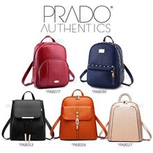 Prado Authentics Korean Premium Leather Backpack Bag