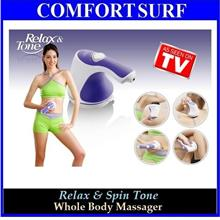 Relax & Spin Tone Whole Body Massage-Slimming, Exersice, Fitness