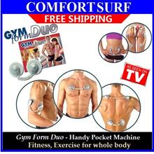 Gym Form Duo for Body Slimming & Fitness wf 6 Advance Exercise Program