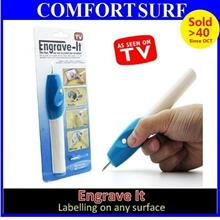 Engrave IT Electric Engraving Pen Carving on Any Surface / Survenir