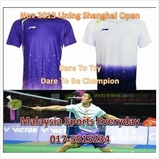 Lining Shanghai Open 2013 Sleeved Jersey Shirt (China) badminton