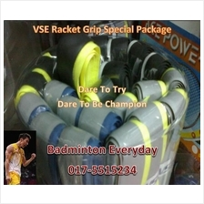 VSE Badminton Racket Grip Special Package - RM50