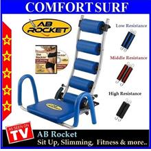 FREE GIFT GIVEN! AB Rocket Exercise Slimming & Fitness Gym Equipment