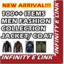 NEW ARRIVAL!! 100++ ITEMS ALL MEN FASHION COLLECTION JACKET & COAT