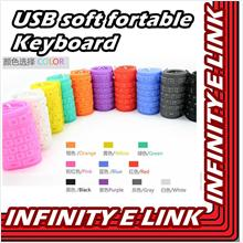 USB soft fortable Keyboard with Wireless/ Wire