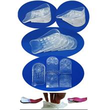 1 PAIR 5 LAYER HEIGHT INCREASE 4CM HALF SHOES INSOLES GEL-for both leg