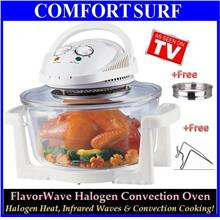 Halogen Convection Oven 1400Watt, 12 Liter(Ring added=16Litres)