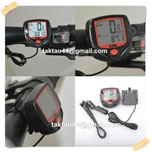 Bike Cycling Computer LCD Odometer Speedometer Stopwatch Bicycle