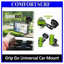 GripGo Car Universal Holder Mount Phone GPS Adjustable 360 Holder