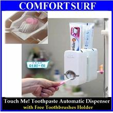Automatic Toothpaste Dispenser TouchMe! + Free Toothbrush Holder
