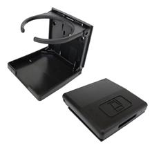 Drink Cup Holder Black 1pcs-Collapsible.Foldable.For boat,car,van,room