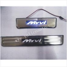 Perodua Myvi 2011 Side Steel Plate / Door Sill Plate with LED