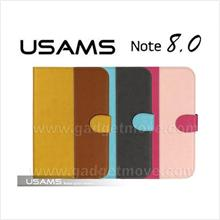 USAMS Samsung Galaxy Note 8.0 N5100 N5110 Wallet Leather Case Cover