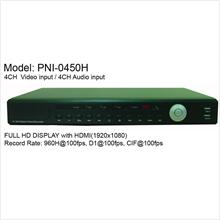 PNI - 960H - 4CH Digital Video Recorder w/ HDMI Output ( CCTV DVR )