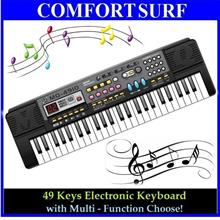 Offer! Portable Multi Function Piano 49 Key Electronic Music Keyboard