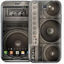 Gelaskins for Samsung Galaxy Note 2 N7100 - Boombox