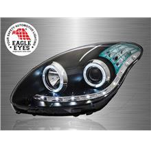 PERODUA MYVI 2005 - 2010 EAGLE EYES LED Daylight Projector Head Lamp
