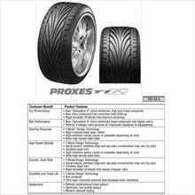 Toyo Proxes T1R Japan Made Tire  Size 15 inch to 19 inch For Sale !!!