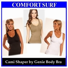 Offer! 5 Comfortable Compression Zones Women Cami Shaper by Genie Bra