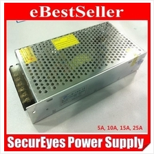 CCTV Alarm LED Switching Power Supply Adapter 12V 5A 10A 15A 20A 30A