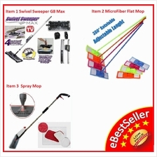 Cordless Swivel Sweeper G6 G8 max Vacuum Cleaner, Spray Mop.. HOT!
