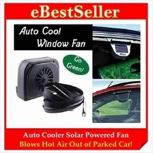 BUY 1 FREE 1 Auto Cooler Solar Powered Fan Ventilation System Car Cool
