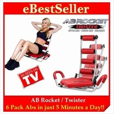 FREE GIFT + AB Rocket / Twister Six Pack Exercise Slimming Fitness Gym