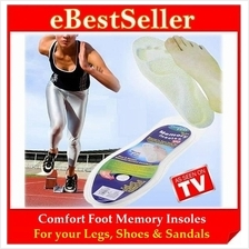 Promo Comfort Foot Memory Foam Insoles For Your Legs, Shoes & Sandals