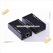 HDMI Extender 60m Unlimited Network over single Cat 5 Cat 6 CCTV Astro