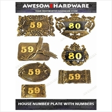 ALUMINIUM HOUSE NUMBER PLATE HOUSE SIGN PLATE HOUSE SIGN ADDRESS