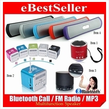 New Mini Bluetooth Speaker Phone Handsfree, MP3 Player, FM Radio Music