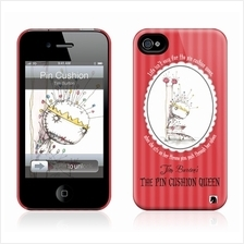 Gelaskins Hardcase for iPhone 4 4s - Pin Cushion Queen