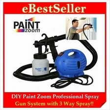 FREE GIFT + ORIGINAL DIY Paint Zoom Electric 3 Way Spray Gun System