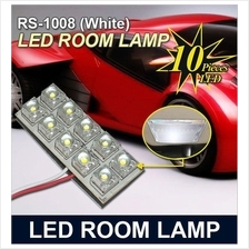 TP POWER 10 LED Crystal White Room Lamp RS-1008 [White]