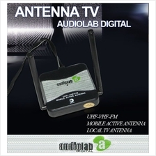 AUDIOLAB DIGITAL High Quality TV Antenna w/ Booster Made In Germany