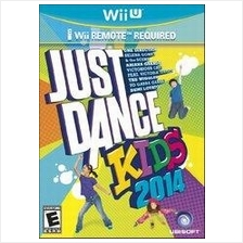 Just Dance Kids 2014 - Nintendo Wii U (Ready Stock)
