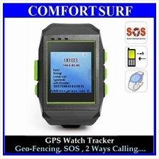 GPS Tracker Watch Wrist Real Time Tracking SOS, 2 Ways Calling