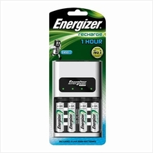 1 set Original Energizer 1 hour Charger+4 Energizer 2450mAH AA battery