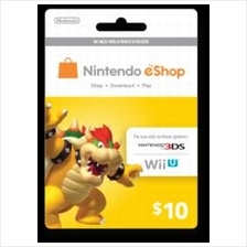 Nintendo Prepaid Card eShop US  USD10 (get within 2 working hours)