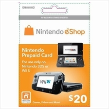 Nintendo Prepaid Card eShop US USD20 (get within 2 working hours)