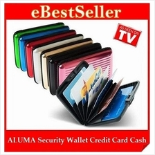 FREE GIFT + ALUMA Security Wallet Credit Card Cash Money ID Holder