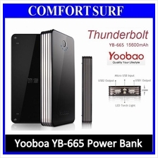 Yoobao YB-665 16500mAh ThunderBolt Power Bank High Capacity