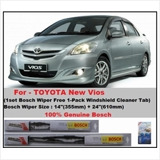 (Promotion)Genuine Bosch (BE14+BE24)Toyota New Vios Wiper Blades