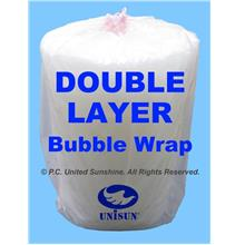 GRADE A DOUBLE Layer BUBBLE WRAP 1m x 100m in SPECIAL PROMO PACK