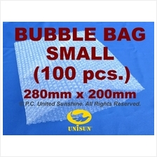 x 100 pcs. SMALL BUBBLE WRAP BAG 280mm x 200mm A4 Size PROMO