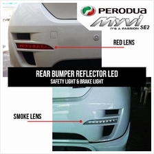 PERODUA MYVI 05-07 Crystal RED REAR BUMPER LED Light [OSN-601R]