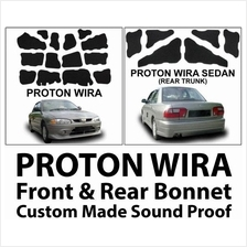 WIRA SEDAN Custom Made Carfit Front Bonet & Rear Trunk Sound Proof